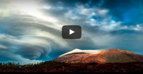 VIDEO The sky law, un #timelapse dalle #Canarie