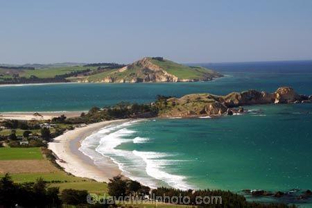 Dunedin New Zealand | Karitane;Otago;coast;beach;beaches;water;wave;waves;ocean;sea;rural ...