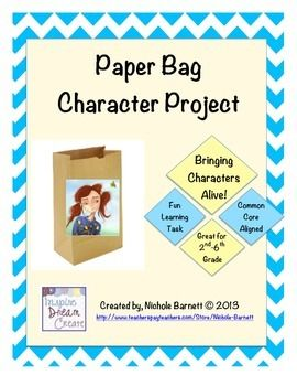 paper bag book report rubric elementary Ready-to-go genre book reports blank evaluation rubric these engaging projects move beyond traditional book report formats and.