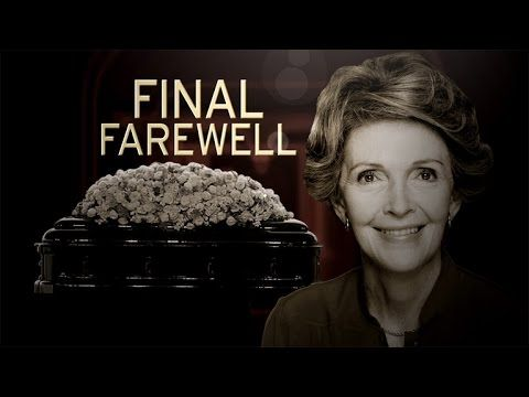 Nancy Reagan's Funeral: Michelle Obama, Hillary Clinton, Arnold Schwarze...