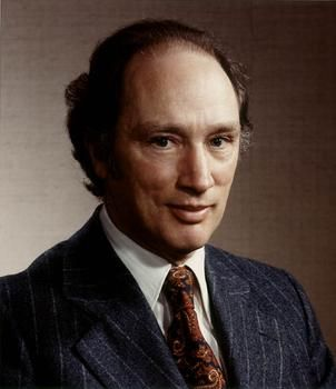my other Prime Minister Trudeau - the poppa Pierre - one of the most popular PMs in Canadian history.