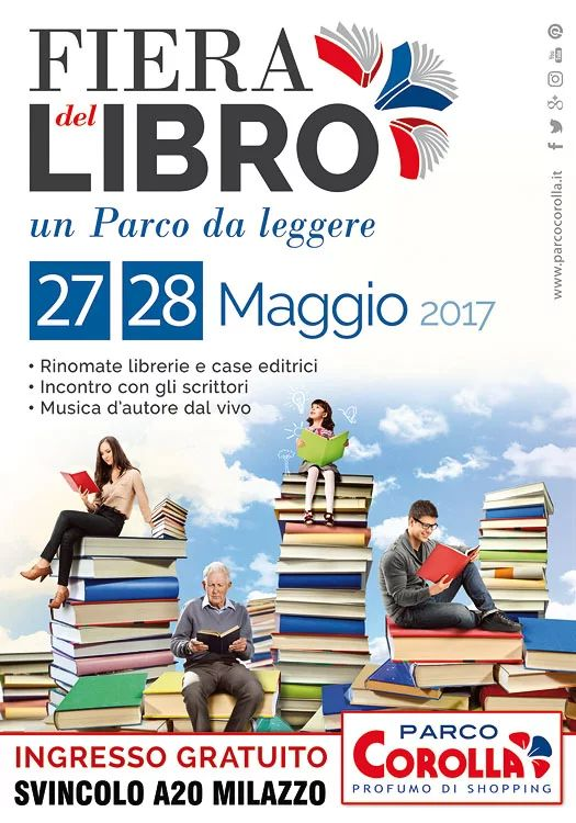 Fiera del Libro al Parco Corolla  #libri #bookstore #book #lettura