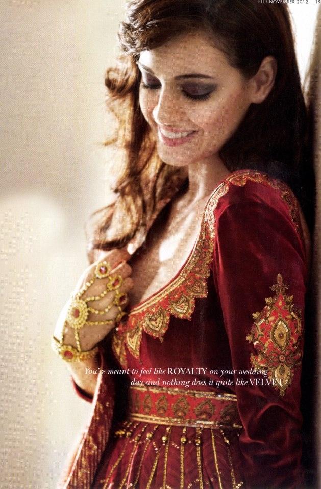 Mughal Style Anarkali. Dia Mirza