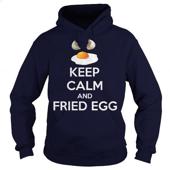keep calm and fried egg - #transesophageal echocardiogram #plain t shirts. MORE INFO => https://www.sunfrog.com/Funny/keep-calm-and-fried-egg-Navy-Blue-Hoodie.html?60505