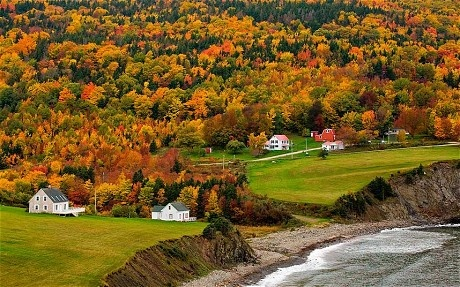 Canada: where to view the autumn foliage - Telegraph  (Starr's note: good info here on where to go to see fall foliage in all three Maritime provinces; also has short notes on fall colors in New England, Ontario, and Quebec.)