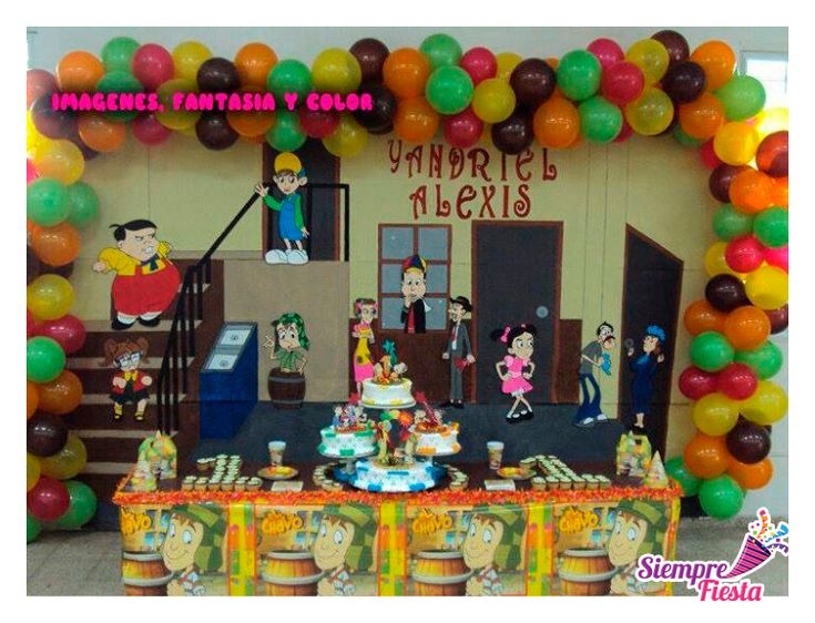 17 best images about el chavo del 8 on pinterest cupcake - Cosas para fiestas de cumpleanos ...