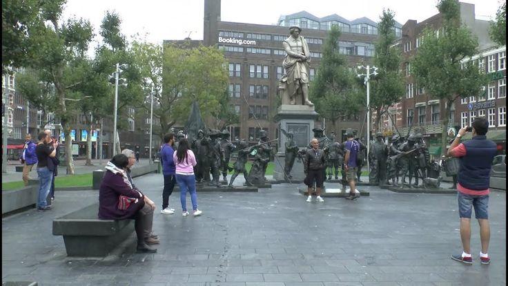 Walk around Amsterdam Netherlands