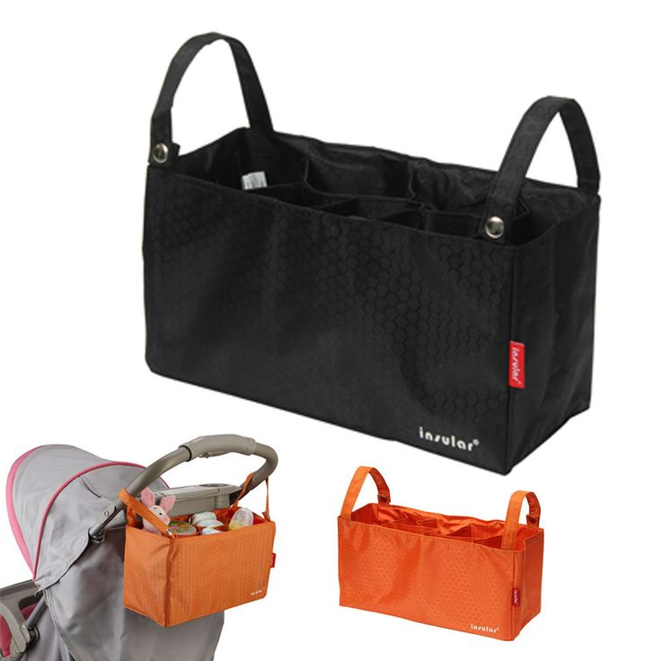 Waterproof Thermal Insulation Bags Portable Mommy Bags Baby Diaper Stroller Organizer Cooler Bag Stroller Accessories 9 Colors