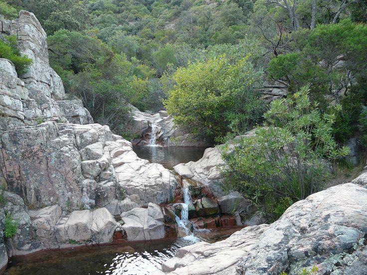 Waterfalls and pools at Coccorocci, Gairo #Ogliastra #Sardinia
