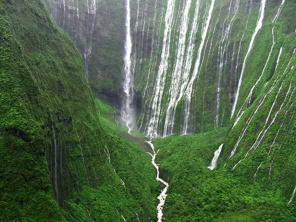 This sight moved me to tears. The most beautiful place I have seen. Mt. Waialeale, Kauai, Hawaii
