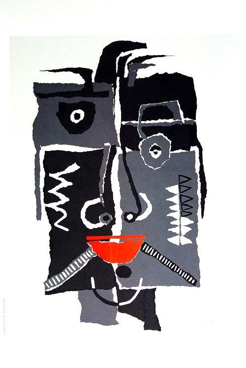 Máscara africana. César Manrique