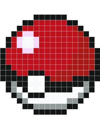 Pokeball Pixel Art Grid For pokeball i pixel art                                                                                                                                                                                 More