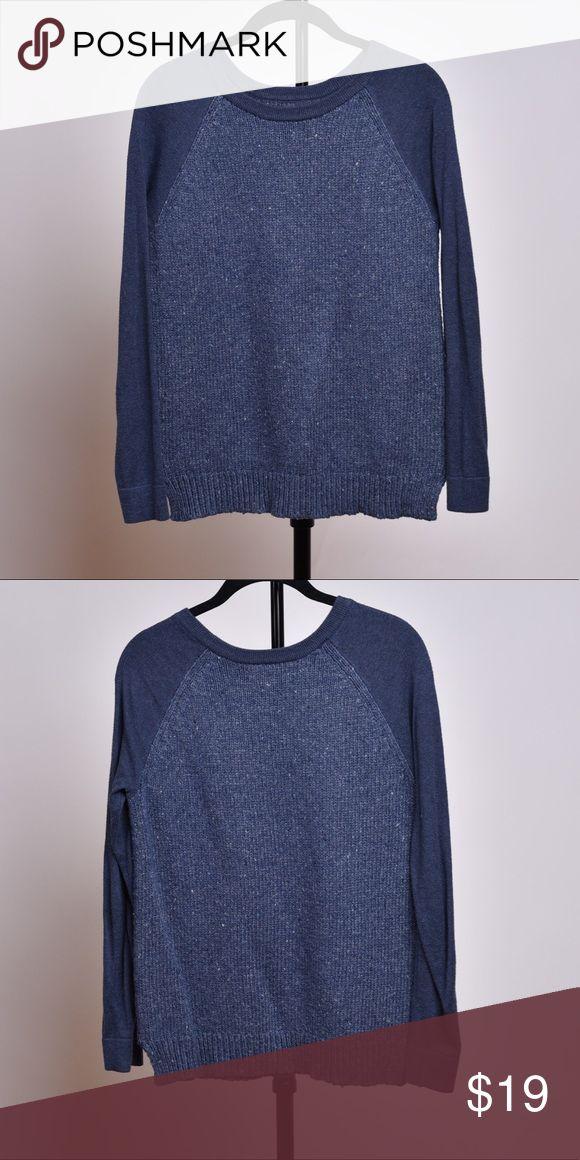 GH Bass Blue Pullover Sweater GH Bass Blue Pullover Sweater, lightly used Bass Sweaters Crew & Scoop Necks