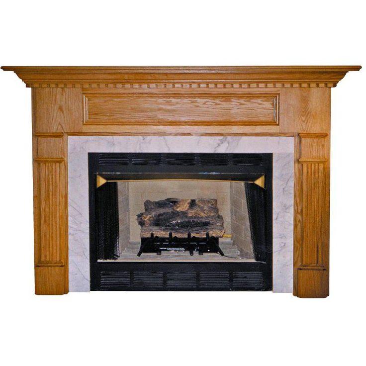 Awesome Wood Fireplace Mantel Surround Part - 12: Best 25+ Fireplace Mantel Surrounds Ideas On Pinterest   Diy Fireplace  Mantel, Faux Fireplace Mantels And Diy Mantel