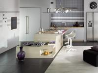 KUCHENNE INSPIRACJE: Odpowiednio dobrane płytki w kuchni, decydują o charakterze wnętrza. A co powiecie na szafki z płytek? Albo blat?