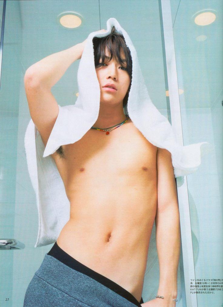 シャワー上がり