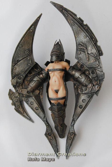 Steampunk Mechanic Angel 2 by ~Diarment on deviantART