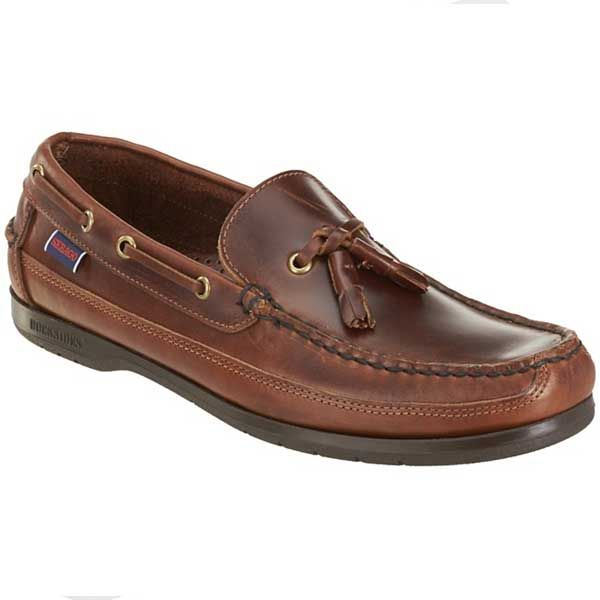 Sebago Women's Women's Plaza Tassel Brown Leather Shoes In Size 40 E (W) Brown 6zz8KPyDZQ