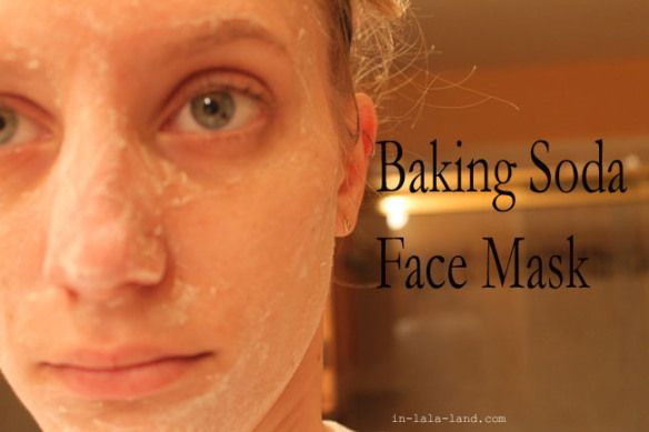DIY: baking soda face mask for clogged pores