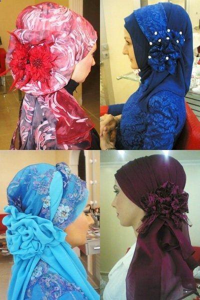 /// Turkish Hijab Style