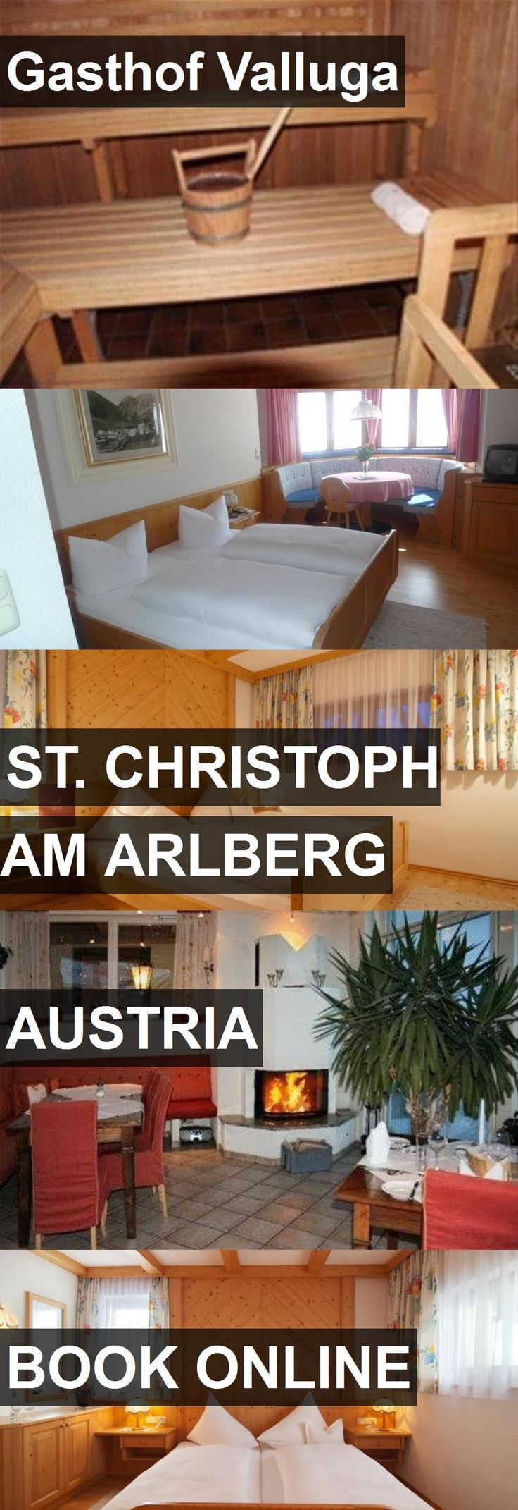 Hotel Gasthof Valluga in St. Christoph am Arlberg, Austria. For more information, photos, reviews and best prices please follow the link. #Austria #St.ChristophamArlberg #GasthofValluga #hotel #travel #vacation