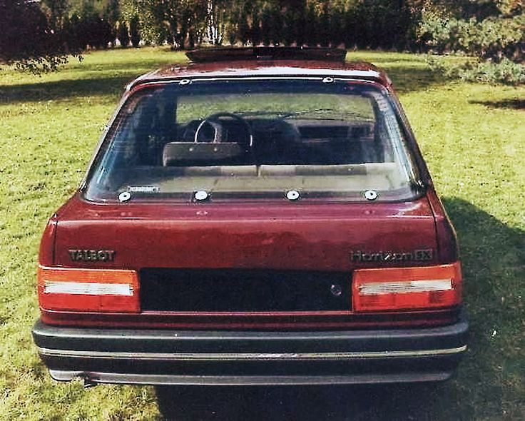 Talbot Arizona : l'histoire de la Peugeot 309