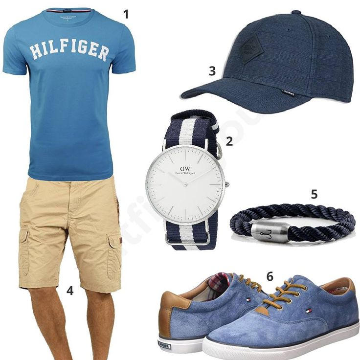Sommer-Style mit Armband und Uhr (m0356) #outfit #style #fashion #menswear #mensfashion #inspiration #shirts #weste #cloth #clothing #männermode #herrenmode #shirt #mode #styling #sneaker