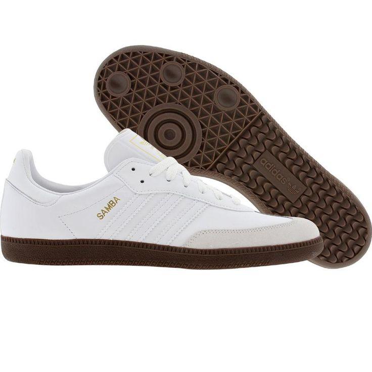 Adidas Samba (white / gum5) G17101 - $59.99