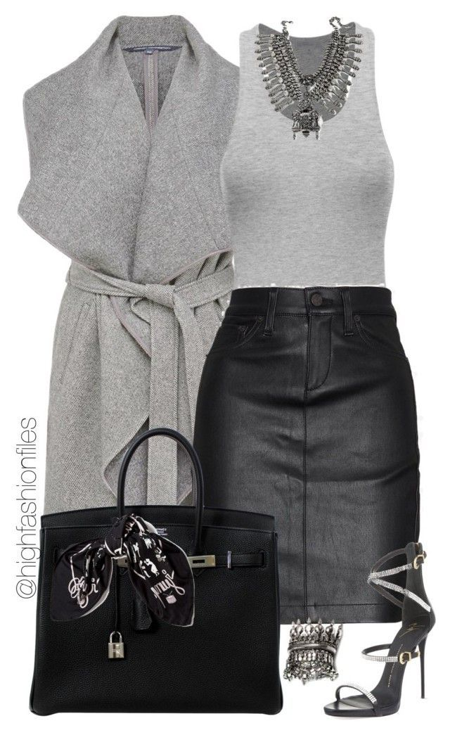 Untitled #1879 by highfashionfiles ❤ liked on Polyvore