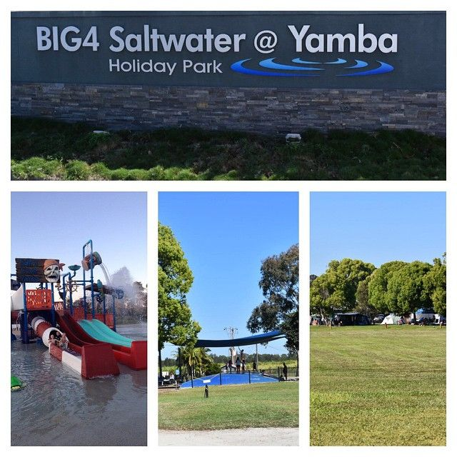 We just spent a few days at the Big 4 Saltwater Yamba NSW. It's our 2nd time staying here & both times have been great! If you've always been a Blue Dolphin (in town) type of person we'd definately encourage you to give Saltwater a go. The park is massive with loads of open areas & is only a short 10 minute drive out of town. It's right on the river so perfect for fishing or launching your boat right there in the park. The introduction of Saltys Water Park is great for the kids! Our kids…