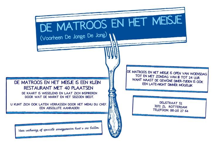 Restaurant De matroos en het meisje Rotterdam