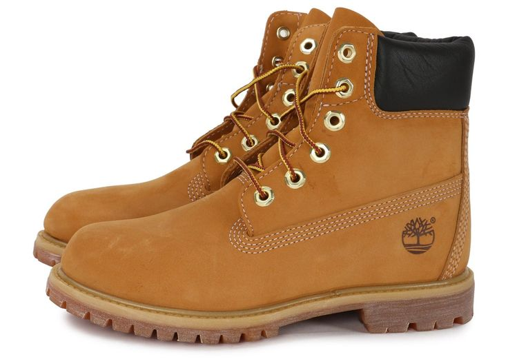 Chaussures Timberland 6-Inch Premium Boot F Beige vue extérieure