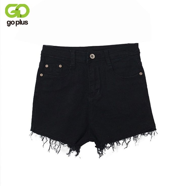 GOPLUS 2017 New White Celana Pendek Wanita Casual Fashion Short Jeans Cintura Alta Tassel Denim High Waisted Black Shorts C2328-in Shorts from Women's Clothing & Accessories on Aliexpress.com | Alibaba Group