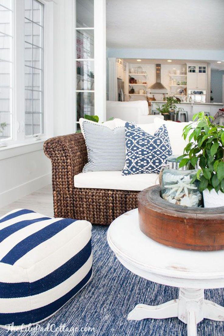 Home Decorating On Pinterest Nautical Nautical Cottage Decor