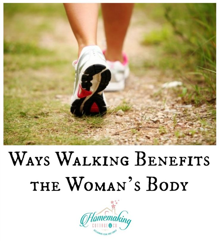 How Walking Benefits the Woman's Body