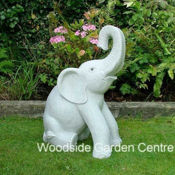 Extra Large Marble Resin Elephant Home Or Garden Ornament | Woodside Garden  Centre | Pots To Inspire | Pinterest | Garden Ornaments, Resin And Marbles