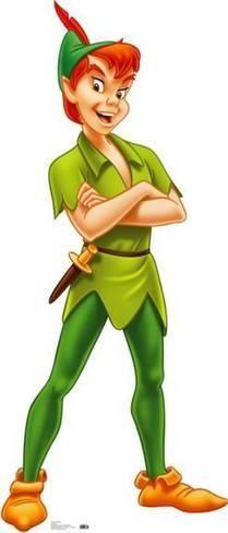 Peter Pan Pappfiguren bei AllPosters.de