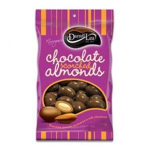 Darrell Lea Chocolate Scorched Almonds 110g