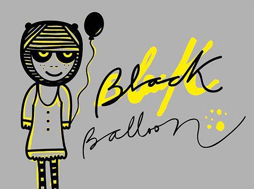 black balloon: Black Balloons, Photo
