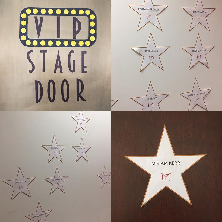 Employee awards decorations. Well worth the carpel tunnel syndrome. #recognition #star #work #lovemyjob #team