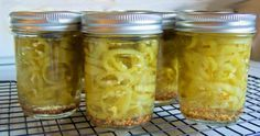 Pickled Banana Peppers: Perfect for putting up that garden bounty.