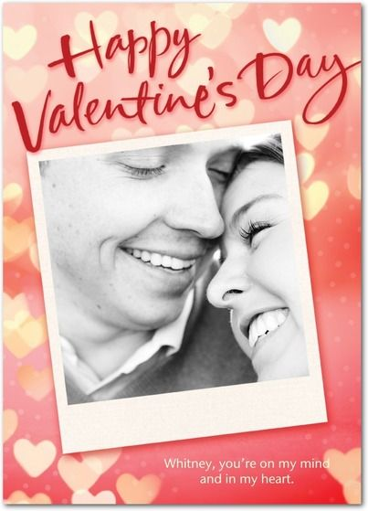 Passionate Picture - Valentine's Day Cards in Coral   Hallmark