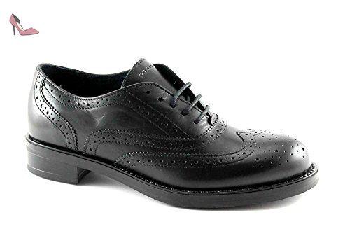 FRAU 98M5 Les chaussures noires brogues Anglais embout en cuir 40 - Chaussures frau (*Partner-Link)