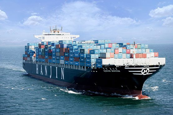 Mitsubishi Industries' New Post-Panamax Ship Rides on Bubbles