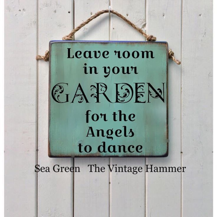 11x11 and 16 colors to choose from! OUTDOOR SEALED FOR MOISTURE PROTECTION AS WELL AS UV PROTECTION. This piece WILL stay vivid for many years! Leave Room in Your Garden for the Angels to Dance, Wood, OUTDOOR SEALED, color options, garden sign, angel sign, garden art, mother, porch https://www.etsy.com/listing/191047751/leave-room-in-your-garden-for-the-angels