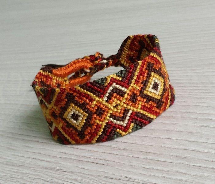 Bracelet autumn ButikHejHej - Bransoletki plecione