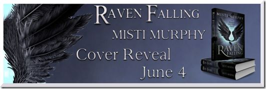 Book Nook Nuts: Cover Reveal - Raven Falling by Misti Murphy