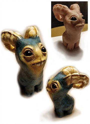Goatie. Super Sculpey - By Dee Dee Comics