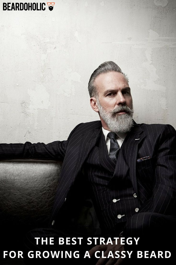 The Best Strategy for Growing a Classy Beard From Beardoholic.com
