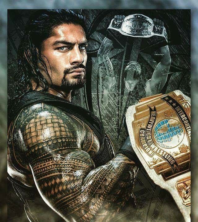 Roman Reigns as Intercontinental Champion